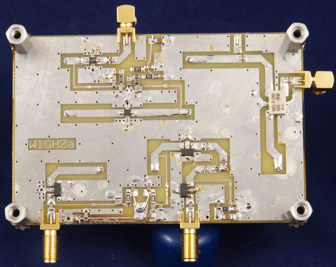 W1ghz Small Projects Printed Circuit Board Photo From Wwwexpresspcbcom Simple Transverter For 2304 Or 3456 Mhz Update Enhancements Latest Pc Boards Available